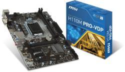 MSI H110M PRO-VDP