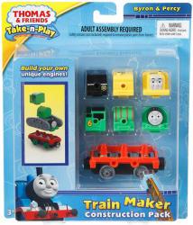 Mattel Thomas Take-n-Play vonatgyár építő kiegészítő szett