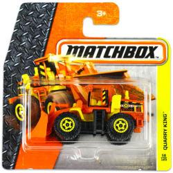 Mattel Matchbox - Quarry King kisautó - narancssárga