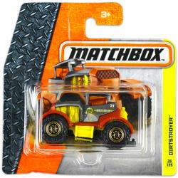 Mattel Matchbox - Dirtstroyer kisautó
