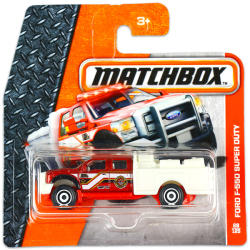 Mattel Matchbox - Ford F-550 Super Duty kisautó
