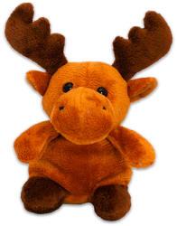 TY Inc Karácsonyi plüssfigura - szarvas, 10cm (BEAR-SX0048)