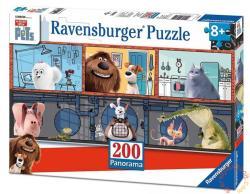 Ravensburger A kis kedvencek titkos élete - panoráma puzzle 200 db-os (12834)