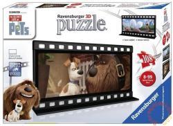Ravensburger A kis kedvencek titkos élete - Max és Duke filmszalag - 3D puzzle 108 db-os (11213)