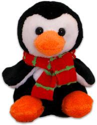 TY Inc Karácsonyi plüssfigura - pingvin, 10cm (BEAR-SX0048)