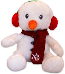 TY Inc Karácsonyi plüssfigura - hóember, 20cm (BEAR-SX0005)
