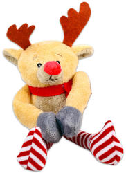 TY Inc Karácsonyi plüssfigura - szarvas, 12cm (BEAR-SX5062)