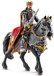 Schleich Sárkány Lovag Király Lóháton (70115)