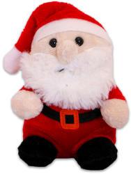 TY Inc Karácsonyi plüssfigura - télapó, 10cm (BEAR-SX0048)