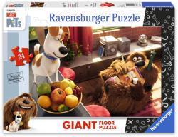 Ravensburger A kis kedvencek titkos élete - óriás floor puzzle 24 db-os (05483)