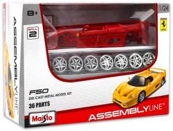 Maisto 36 darabos összeszerelhető Ferrari F50 autó 1:24
