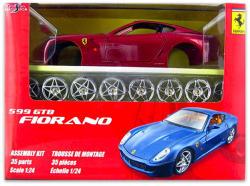 Maisto 35 darabos összeszerelhető 599 GTB FIORANO autó