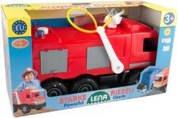 LENA Mercedes tűzoltóautó dobozban (02028)