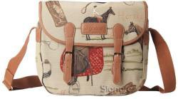 Signare Messenger gobelin női válltáska Horse