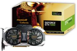 Manli GeForce GTX 1060 Gallardo 3GB GDDR5 PCIe (M-NGTX1060G/5RCHDPPP)