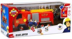 Dickie Toys Sam a tűzoltó - Deluxe Jupiter - Jupiter tűzoltóautó két figurával