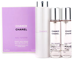 CHANEL Chance Eau Tendre (Refills) EDT 3x20ml Tester