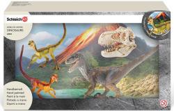 Schleich Vadászó Velociraptor (42259)