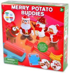 Playgo Karácsonyi figurás gyurmakészlet