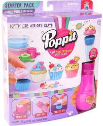 Moose Poppit Mini muffin kreatív gyurma kezdőszett