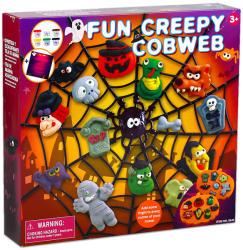 Playgo Halloween pókháló szörnyek gyurmakészlet