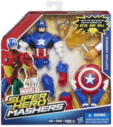 Hasbro Bosszúállók Amerika Kapitány Mashers Figura Kiegészítőkkel (B0694)