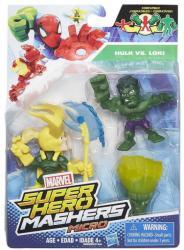 Hasbro Mashers Marvel Super Hero Micro Hulk és Loki (B6688)