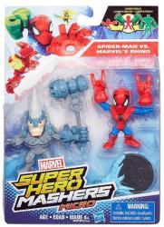 Hasbro Marvel Mashers Micro Pókember és Rhino (B6687)