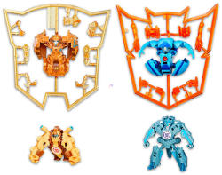 Hasbro Transformers - Mini-Con - 4 Darabos Csomag: Undertone, Backtrack, Beastbox, Swelter, (B5844)