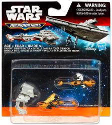 Hasbro Star Wars 7 Micromachines Endor Erdei Csata (B3505)