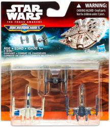 Hasbro Star Wars 7 Micromachines X-Szárnyú Közelharc (B4104)