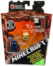 Mattel Minecraft Alvilágkő Mini Figura Szett 3 db