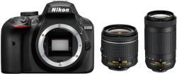 Nikon D3400 + AF-P 18-55mm + AF-P 70-300mm