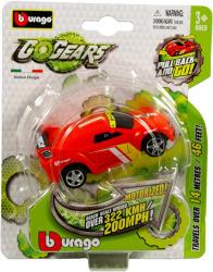Bburago Go Gears hátrahúzós kisautók - piros sportautó