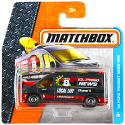 Mattel Matchbox - 14 Ford Transit News Van