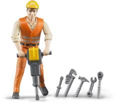 BRUDER Építőmunkás