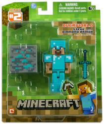 Mojang Minecraft Steve Gyémánt Páncéllal
