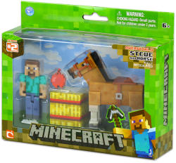 Mojang Minecraft Steve Figura Barna Lóval
