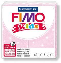 FIMO Kids égethető gyurma - gyöngyház világos rózsaszín 42g (FM8030206)