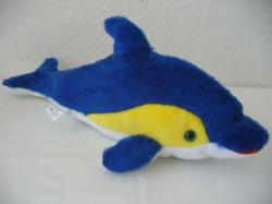 Plüss delfin 35cm