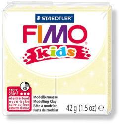 FIMO Kids égethető gyurma - gyöngyház sárga 42g (FM8030106)