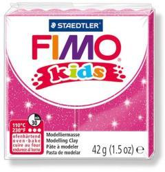 FIMO Kids égethető gyurma - glitteres rózsaszín 42g (FM8030262)