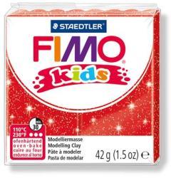 FIMO Kids égethető gyurma - glitteres piros 42g (FM8030212)