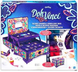 Hasbro Play-Doh DohVinci: Titkos csillogó ékszerdoboz gyurmaszett (B7003)