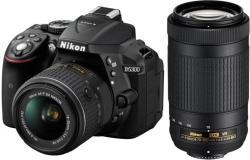 Nikon D5300 + AF-P 18-55mm VR + AF-P 70-300mm VR