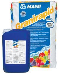 Mapei Granirapid ragasztóhabarcs fehér A+B komponens 28kg