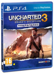 Sony Uncharted 3 Drake's Deception Remastered (PS4) Software - jocuri