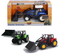 Dickie Toys Farm traktor homlokrakodóval 25cm-es (3 változatban)