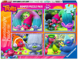 Ravensburger DreamWorks Trollok - 4 az 1-ben puzzle