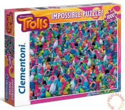 Clementoni A lehetetlen puzzle - Trollok 1000 db-os (39369)